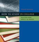 Walter Pauk How to Study in College