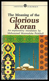 Pickthall The Meaning of the Glorious Koran